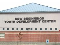Exterior grounds of New Beginnings Youth Development Center