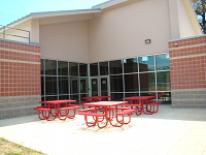 Exterior grounds of New Beginnings Youth Development Center